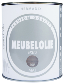 Hermadix Meubelolie eXtra Castle Grey 750 ml