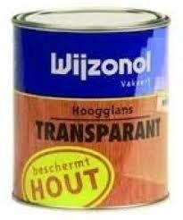 Hoogglans Transparant