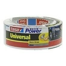 Tesa Universal Tape extra sterk 50mm x 50 meter Zilver