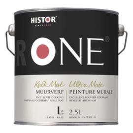 Histor One Muurverf Kalkmat 1 liter