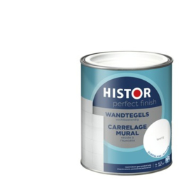 Histor Perfect Finish Wandtegel Zijdeglans Wit 750 ml