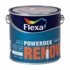 Flexa Powerdek Renovatie Muurverf Stralend Wit 2,5 liter