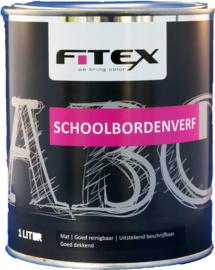 Fitex Schoolbordenverf Zwart 1 liter