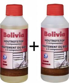 Bolivia Houtrotstop 2 componenten 500 ml