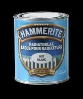 Hammerite Radiator Lak Satin Wit 500 ml