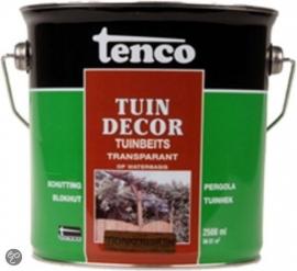 Tenco Tuindecor Donkerbruin Transparant 2,5 liter