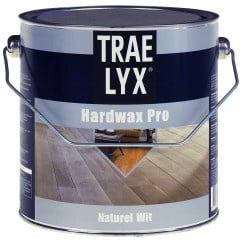 Trae Lyx Hardwax Pro Naturel Wit 2,5 liter