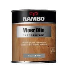 Rambo Vloer Olie White Wash 0777 2,5 liter