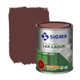 Sigma Exterieur Lak Zijdeglans Ral 3005 750 ml