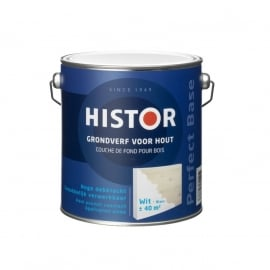 Histor Perfect Base Grondverf Hout Wit 2,5 liter