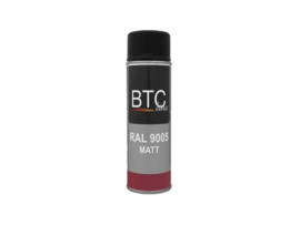 BTC Spray Professional Ral 9005 Mat 400 ml