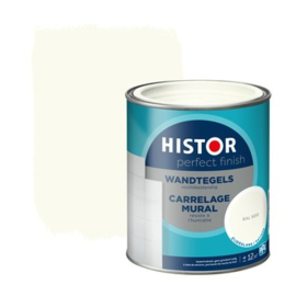 Histor Perfect Finish Wandtegel Zijdeglans Ral 9010 750 ml
