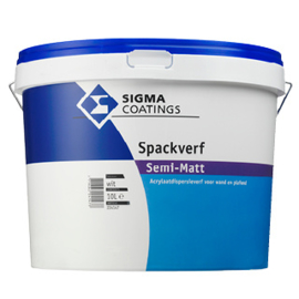 Sigma Spackverf Semi-Matt 10 liter