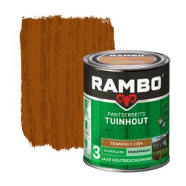 Rambo Pantserbeits Tuinhout Zijdeglans Teakhout 1204  2,5 liter