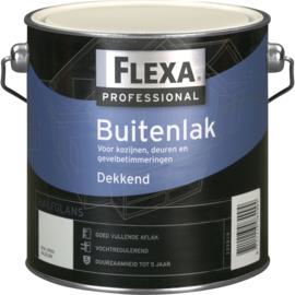 2 keer 2,5 liter Flexa Professional Halfglans Ral 1015