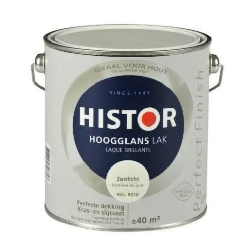 Histor Perfect Finish Tin Hoogglans 1,25 liter