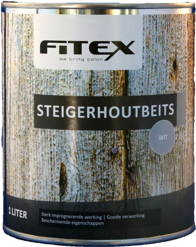 Fitex Steigerhoutbeits Wit 1 liter