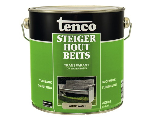 Tenco Steigerhoutbeits White Wash 2,5 liter