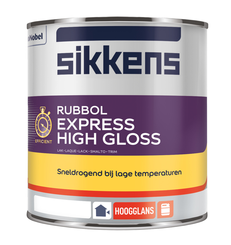 Sikkens Rubbol Express High Gloss 5 liter