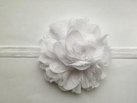 008 haarband grote bloem