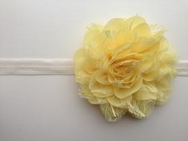 014 haarband grote bloem