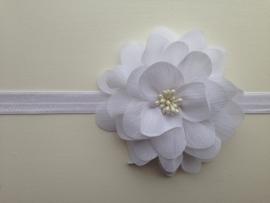 003 haarband grote bloem