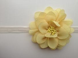 015 haarband grote bloem