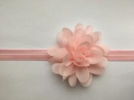 059 haarband grote bloem