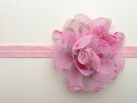 022 haarband grote bloem