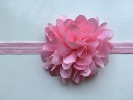 085 haarband grote bloem