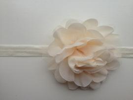 013 haarband grote bloem