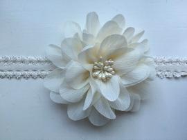 070 haarband grote bloem