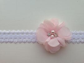 008 Haarband smal kleine bloem