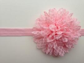 018 haarband grote bloem