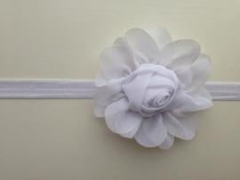 004 haarband grote bloem