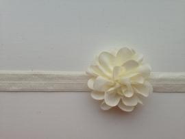011 Haarband smal kleine bloem