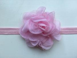 083 haarband grote bloem