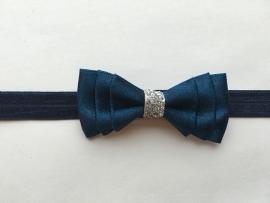 012 satijn haarband