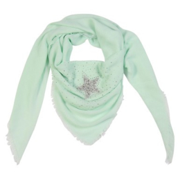 Sjaal glamour star groen