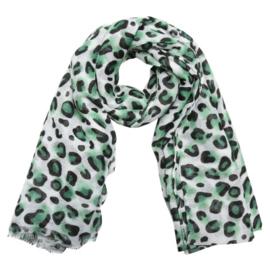 Sjaal wild one groen