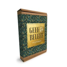 Geef & beleef doosje, een goed gesprek