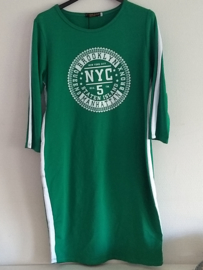 Jurk groen NYC
