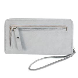 Portemonnee trend zipper grijs