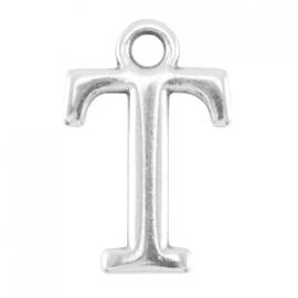 DQ metalen letter bedel T