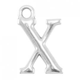 DQ metalen letter bedel X