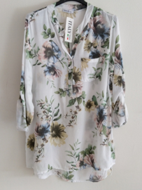 Blouse flower wit