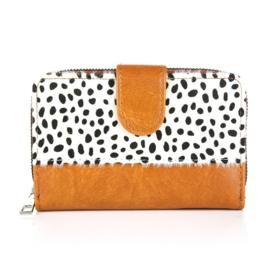 Portemonnee cheetah bruin