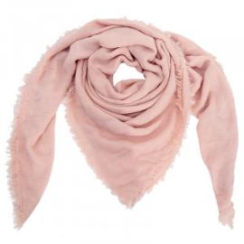 Sjaal Sweet winter oud roze