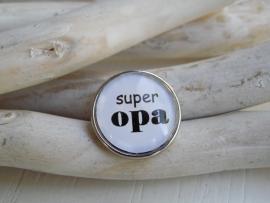 """Tekstdrukker """"super opa"""""""