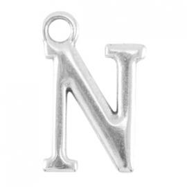 DQ metalen letter bedel N